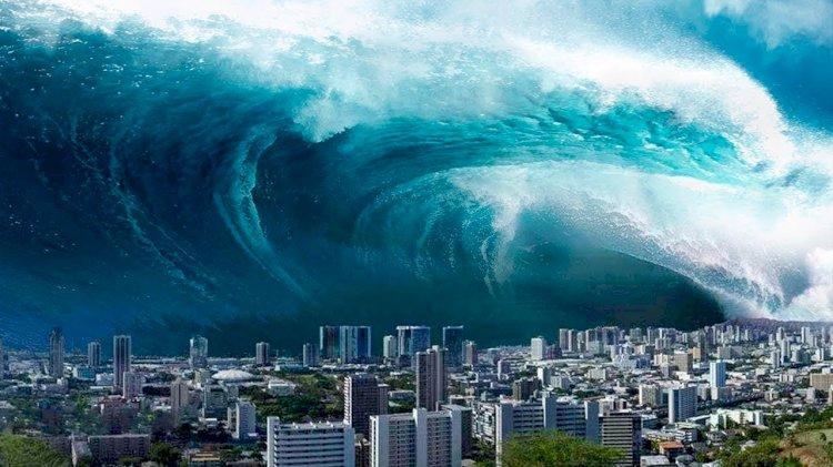 Flaş... Flaş... Türkiye'de ilk defa iki il için tsunami uyarısı verildi