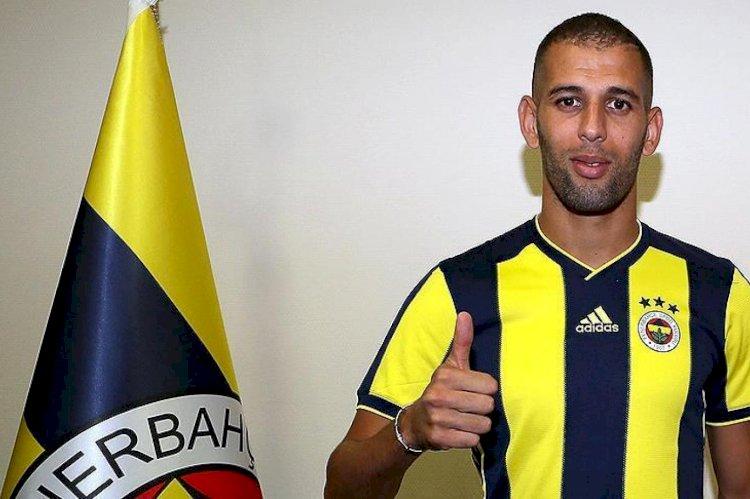 Fenerbahçe'nin eski oyuncusu Slimani: Türkiye'deki futbol değildi, başka bir şeydi