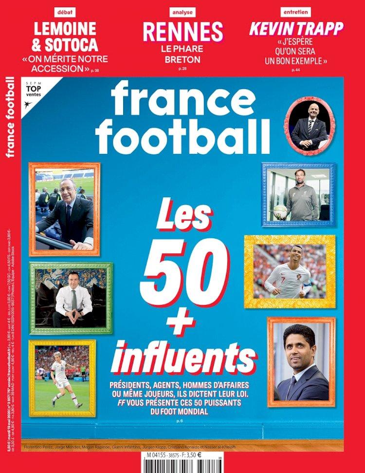 Nasser Al-Khelaifi futbolun en etkili ismi seçildi