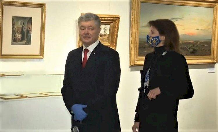 """""""Poroşenko'nun resimleri"""" nedeniyle Ivan Gonchar Müzesi'ne baskın yapıldı (video)"""