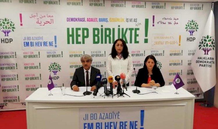 HDP 'yeni dönem strateji tutum belgesi'ni 9 madde ile açıkladı