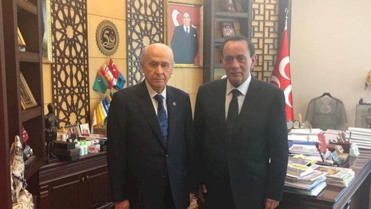 Çakıcı'dan MHP lideri Bahçeli'ye ziyaret