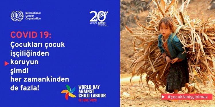 ILO ve UNICEF: Milyonlarca çocuk, COVID-19 nedeniyle çocuk işçiliğine sürüklenebilir