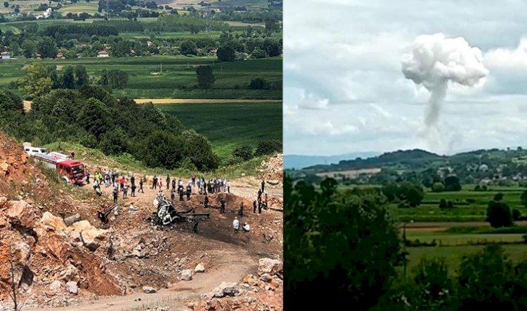 Sakarya'da şiddetli patlama: 3 şehit, 6 yaralı
