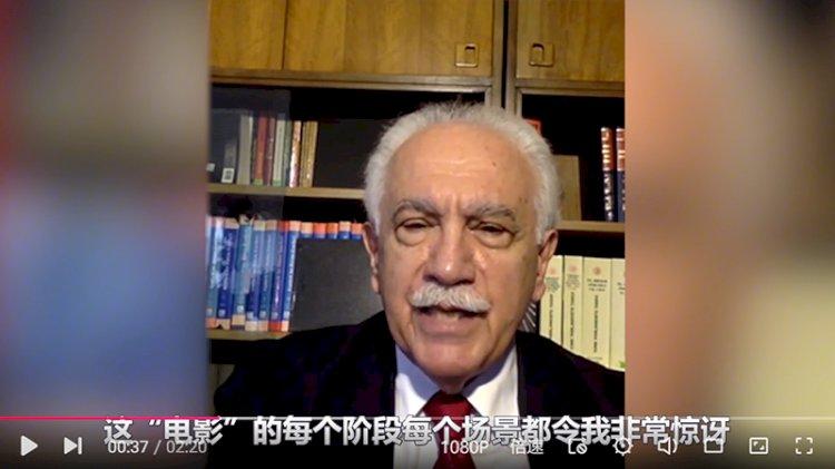 Doğu Perinçek Çin basınında: Çin ABD'ye kırmızı kart gösterdi