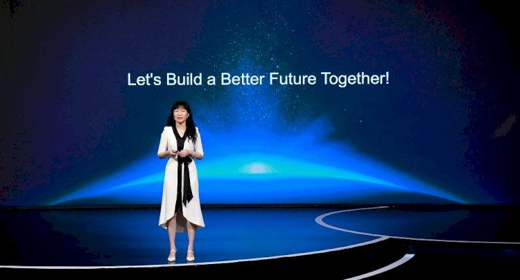 """HUAWEI Yönetim Kurulu Başkanı Catherine Chen: """"Daha iyi bir gelecek için sorumlulukları paylaşmalıyız"""""""