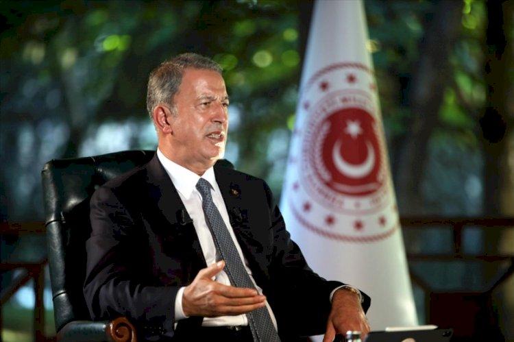 Akar, Ege, Doğu Akdeniz ve Kıbrıs'ta uluslararası hukuku esas aldıklarını bildirdi