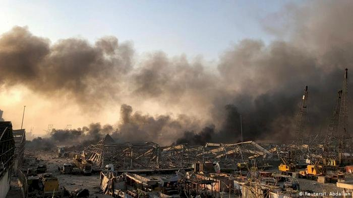 Beyrut'ta büyük patlama: En az 10 ölü