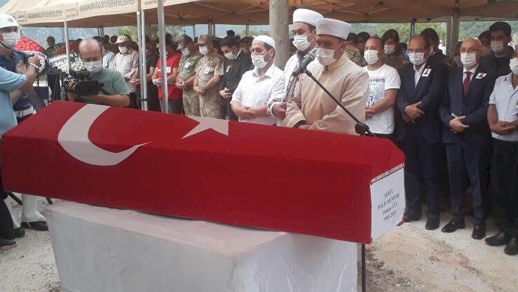 Şehit polis memuru Osman Gül, Kahramanmaraş'ta son yolculuğuna uğurlandı