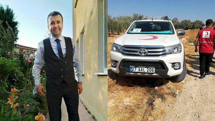 Suriye'de Kızılay ekibine saldırı: 1 şehit, 2 yaralı