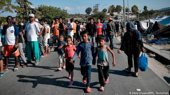 Almanya Midilli'den sığınmacı alacak