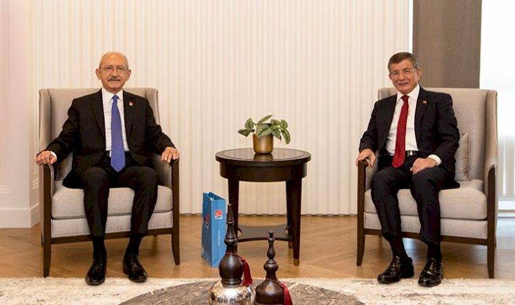 """Kılıçdaroğlu ve Davutoğlu biraya geldi, """"İttifak var mı"""" sorusuna yanıt verdi"""