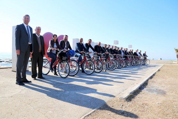 Mezitli Belediyesi Bisikletli Ulaşım Projesiyle Finalde