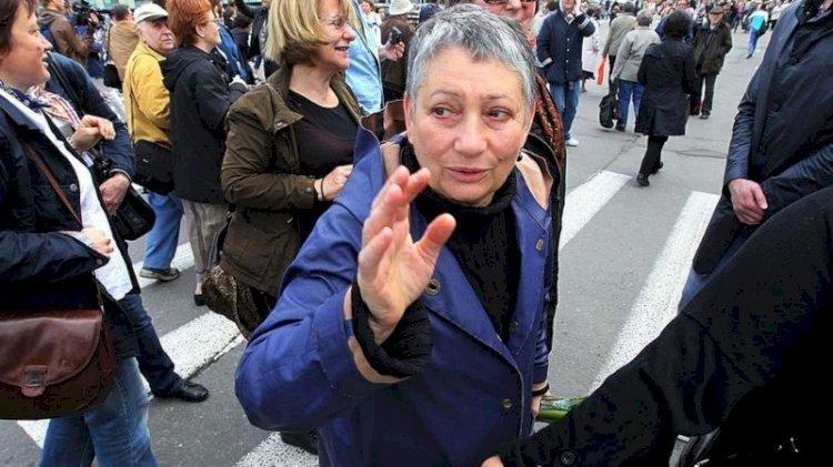 Rus yazar Ulitskaya: Belarus'taki gösterilerin benzerleri bir gün Moskova'da da düzenlenecek