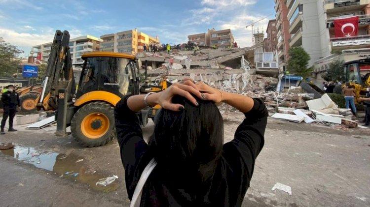 İzmir'de deprem: Seferihisar açıklarındaki depremin ardından kurtarma çalışmaları devam ediyor