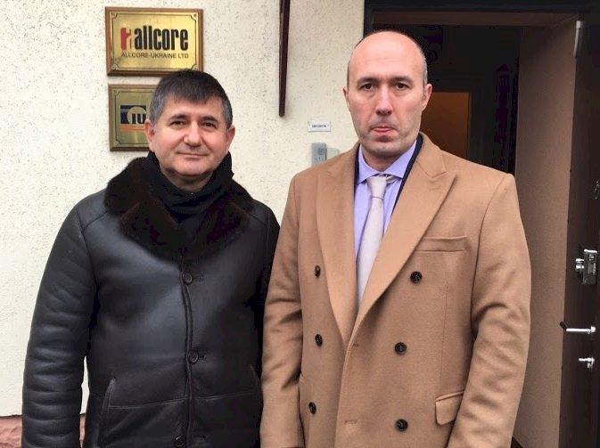 Yusuf İnan Ukrayna Nikolaev - Odessa Başkonsolosu  Cemil Ufuk Toğrul