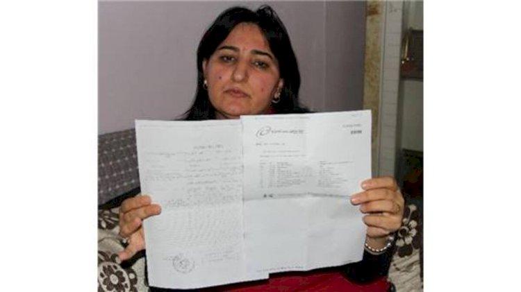 Şehit olan Öğretmen Sait KORKMAZ'ın Eşi AKLİME AYTEN KORKMAZ'ın MEKTUBU