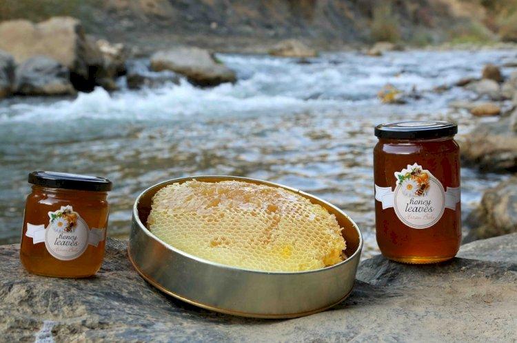 Ortadoğu'nun en iyi karakovan balı Honey Leavesşifa ve lezzet dağıtıyor