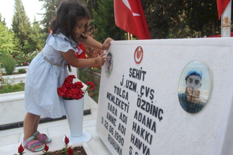 Şehit Çocuklarının Fotoğrafları