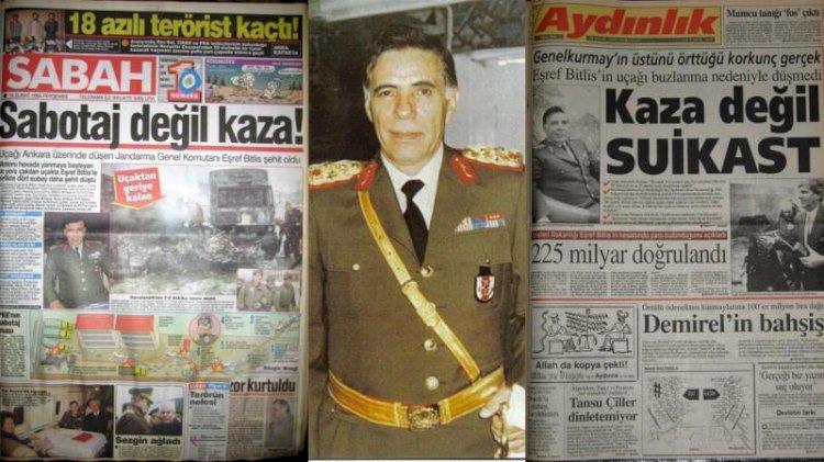 Eşref Bitlis suikastı ve GARA TUZAĞI!