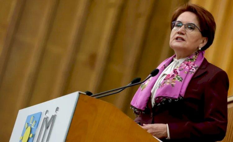Meral Akşener: Hükümetten biri PKK'nın 6 milyon destekçisi var diyor