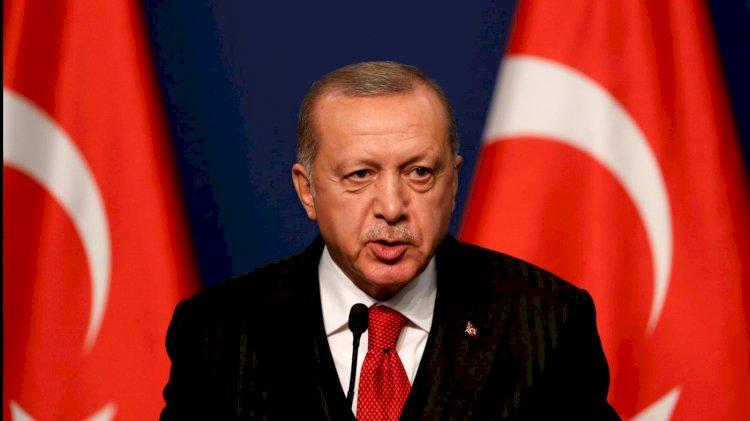 Erdoğan'dan başsağlığı mesajı. Bakan Akar'dan bilgi aldı
