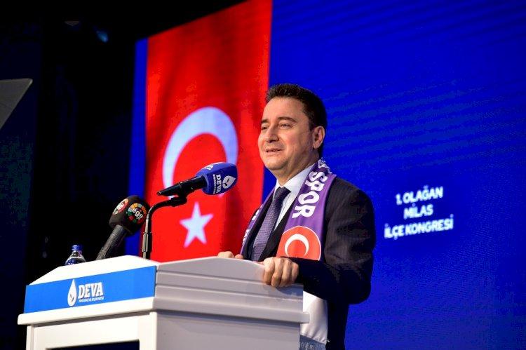 """Ali Babacan: """"Merkez Bankası çok para basmış, onu anlıyoruz"""""""