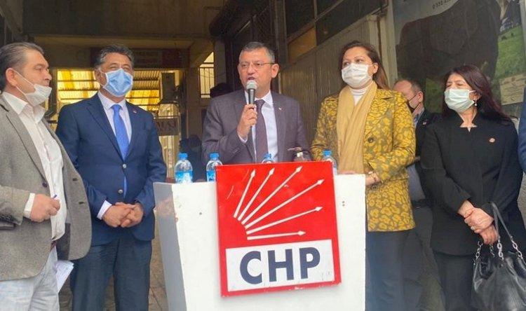 """CHP'li Özgür Özel: """"İttifak ortaklarımızla bir seyri değiştirme umudundayız"""""""