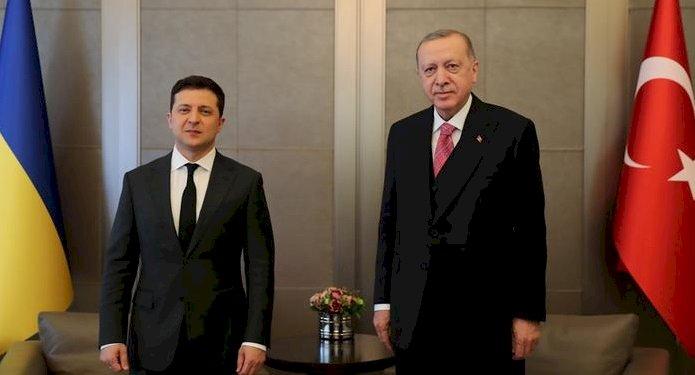 Erdoğan'dan Ukrayna'da barışa destek sözü