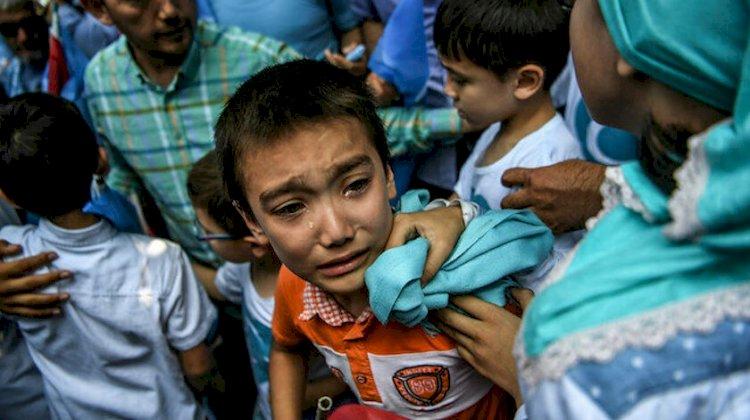 Ahmet Taşgetiren Doğu Türkistanlı çocuklar ve Çin aşısı