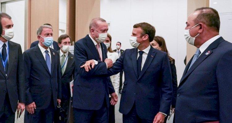 Erdoğan-Macron'dan Suriye ve Libya'da Birlikte İlerleme Arzusu