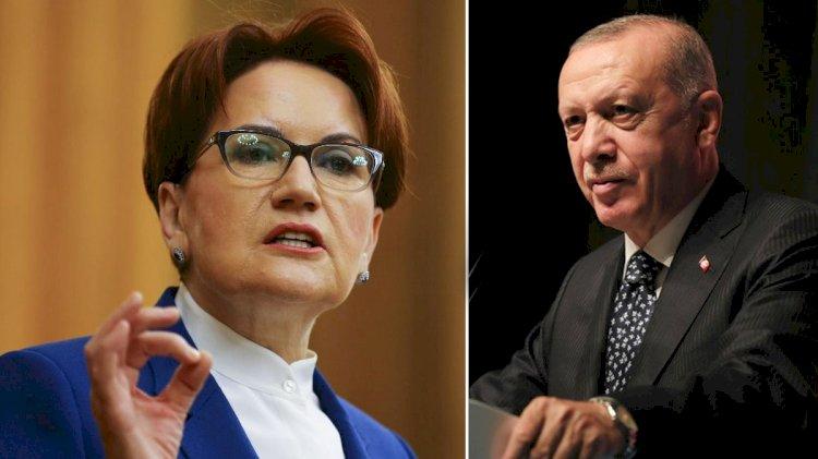 Meral Akşener Erdoğan'ın iddiasına cevap verdi