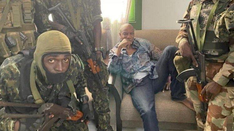 Gine'de darbe girişimi! Cumhurbaşkanı gözaltına alındı