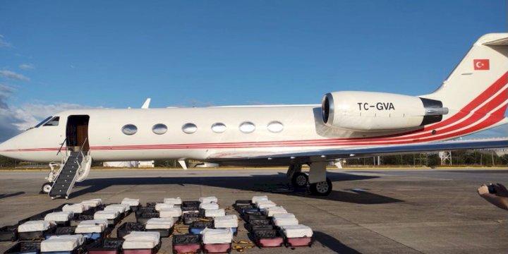 304 kilo kokain yakalanan uçağın hikayesi!