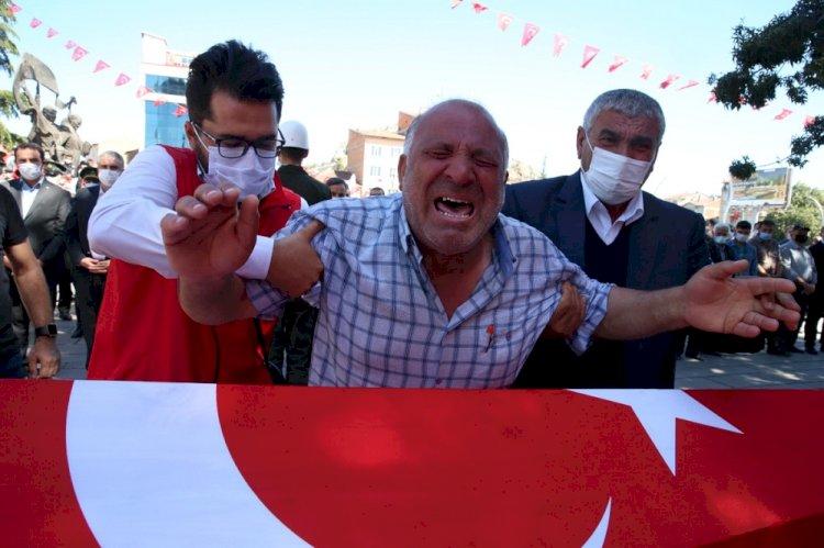 Şehit Piyade Uzman Çavuş Muammer Yiğit Tokat'ta son yolculuğuna uğurlandı