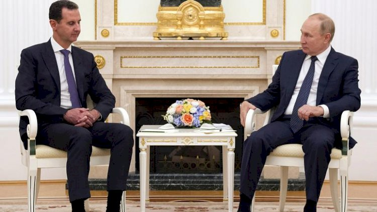 Putin'den Esad'a: BM kararı olmadan Suriye'de bulunan yabancı güçler birliğin önünde engel
