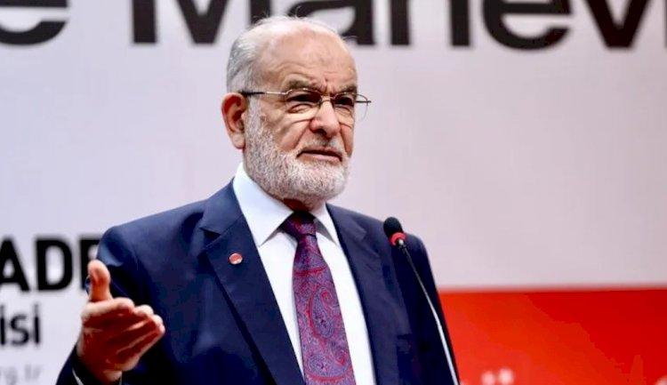 Karamollaoğlu: Erken seçime gidilmezse Erdoğan aday olamıyor