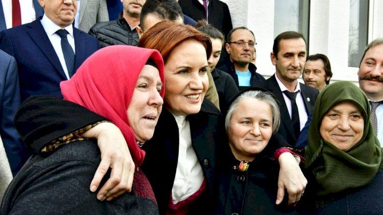 Akşener: AK Parti'den kopacak seçmenleri bekliyoruz