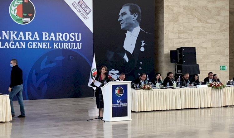 Ankara Barosu genel kurulu yarın seçimle devam edecek
