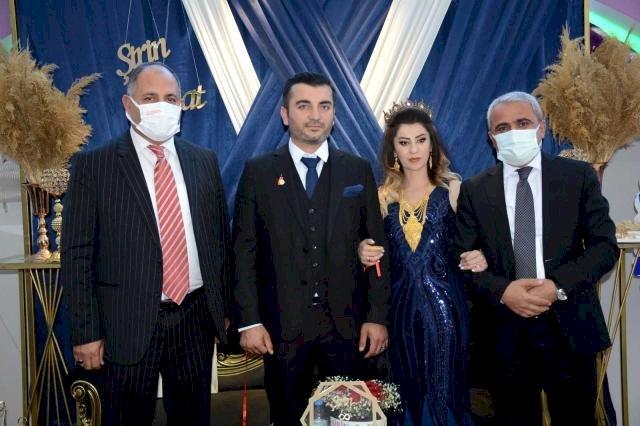 Hakkari'de, 1995 yılında şehit olan Yusuf Adıyaman'ın kızı Şirin Adıyaman için görkemli bir nişan töreni yapıldı.