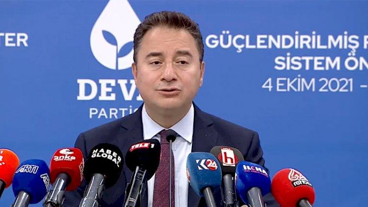 DEVA Partisi, güçlendirilmiş parlamenter sistem önerisini açıkladı