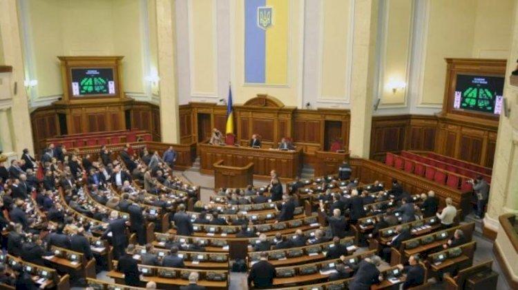 Ukrayna parlamentosu, başkan Dmitro Razumkov'u görevden aldı