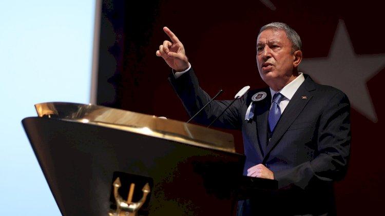 Milli Savunma Bakanı Akar: Yunanistan'daki bazı siyasiler, saldırgan eylem ve söylemleriyle gerilimi tırmandırıyor