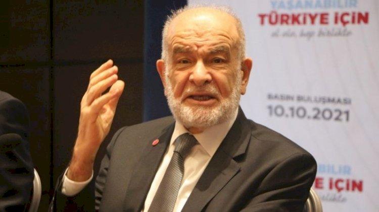 Saadet Partisi lideri Karamollaoğlu: Gündemde bir ittifak konusu yok