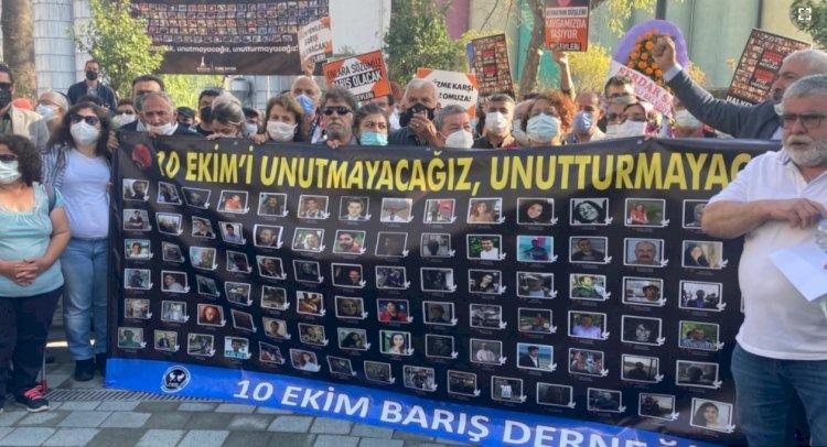 Ankara Gar Saldırısı'nın 6'ncı Yılında Adalet Talebi