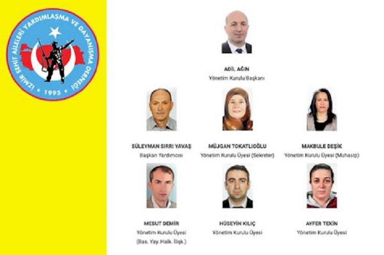 İzmir Şehit Aileleri Yardımlaşma ve Dayanışma Derneği Başkanı Adil Ağın