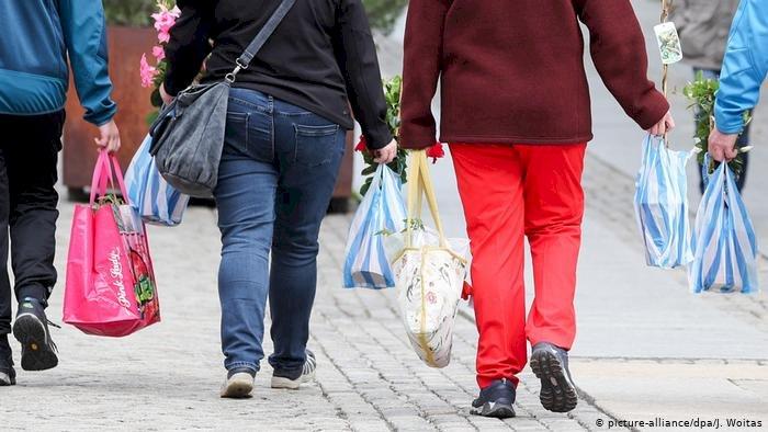 Almanya'da plastik poşete yasak çağrısı