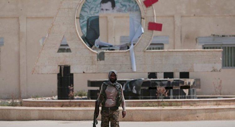 Suriye'nin Haseke bölgesinde DSG ve ABD varlığı protesto edildi