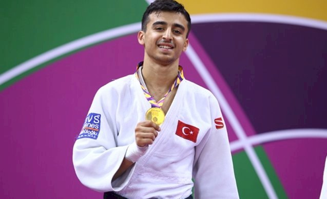 Milli judocu Berat Bahadır: Türk sporuna adımı altın harflerle yazdırmak istiyorum