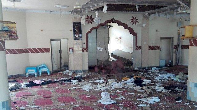 Camide zaman ayarlı bomba patladı